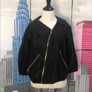 Marc by Marc Jacobs asymmetrical bomber jacket XS